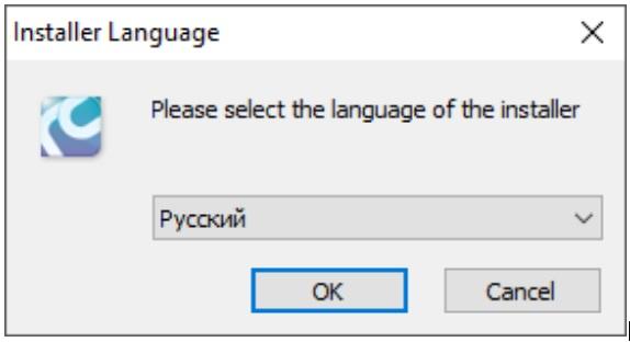 Выбор языка raidcall