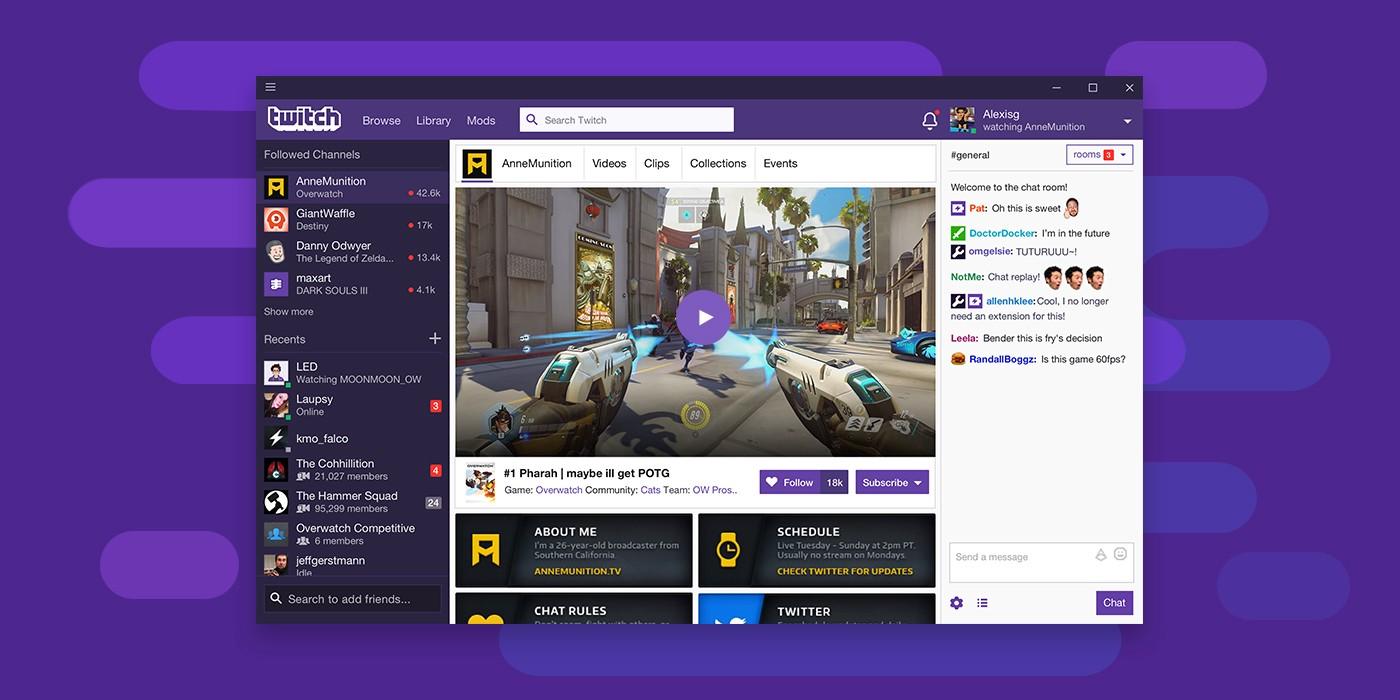 Видеохостинг Twitch